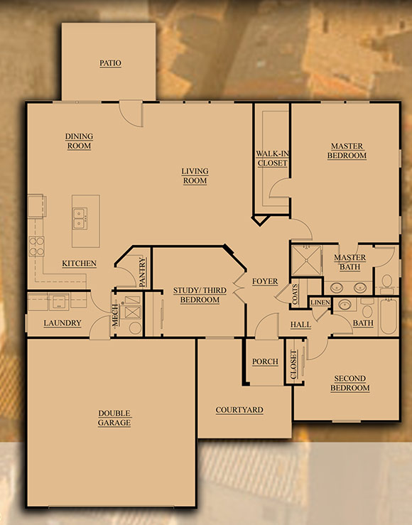 3 bedroom house plans with finished basement escortsea for Basement finishing floor plans